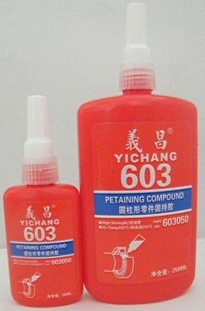 retaining compounds adhesive 603 green color China Yichang