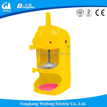 Electric snow ice block ice shaver