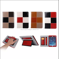 New arrival fashion high quality standing hybird wallet leather flip case for Ipad Air
