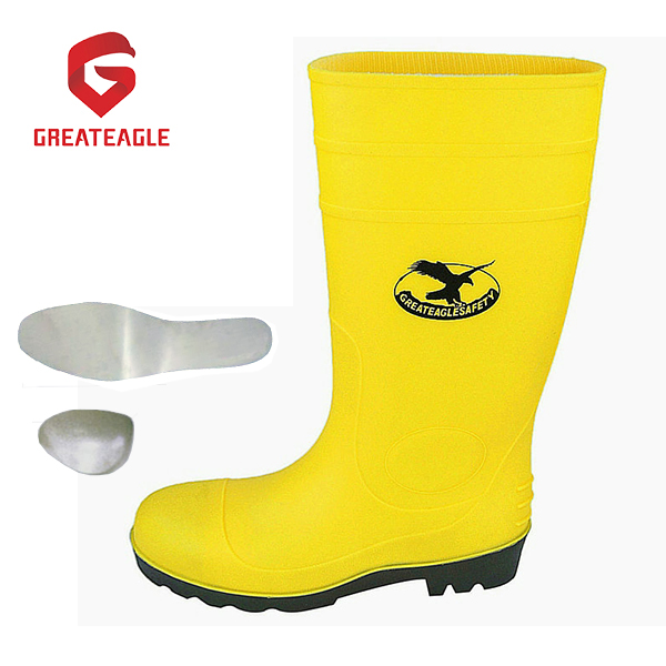 PVC Safety Rain Boots ,Work Safety Cheap Gumboots