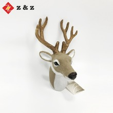 2018 new design festival decoration fake fur christmas deer decoration and deer gift