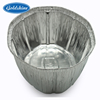 Professional manufacturer large size aluminum foil oval pan container V3 platters