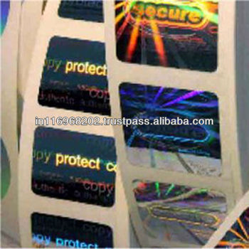comprehensive security hologram labels