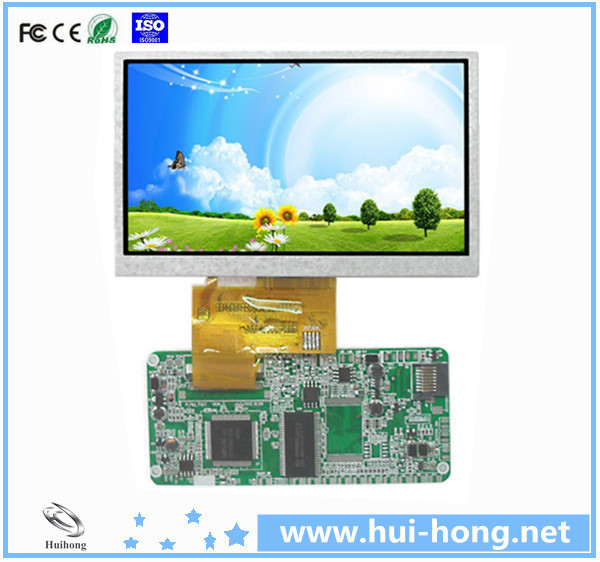 small size lcd display portable advertising player for supermarket