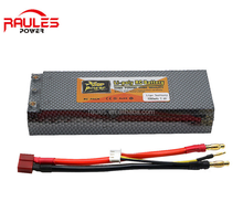 High capacity 5200mah 2S 30C 7.4v rechargeable lithium polymer battery for rc car models