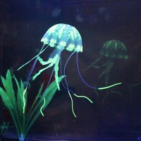 Factory silicone glowing jellyfish for sale,jellyfish for Aquarium,fish tank&aquarium decoration