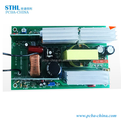 High frequency multilayer customized solar inverter pcb