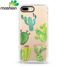 custom design color print clear transparent soft tpu shockproof phone accesories case phone cover for iPhone 7 7Plus