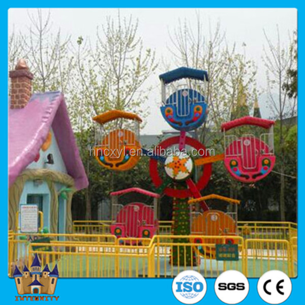 amusemnet family mini rides / small electric ferris wheel for sale with best price