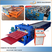 Automatic Tile Press Double Layer Cold Forming Machine/Machine for Manufactures Rolling Double Roofing Panles