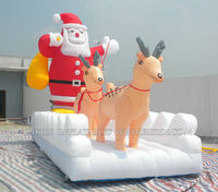Inflatable christmas party decoration, inflatable santa claus C1024
