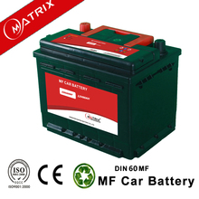 Best price 12V 60Ah 20hr din60 automotive quick start car battery