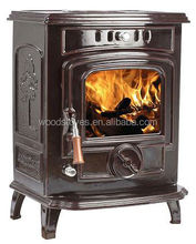 wood burning cast iron fireplaces, classical wood log stove