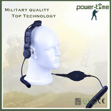 Tactical bone conduction microphone for vertex vx-829 PTE-129