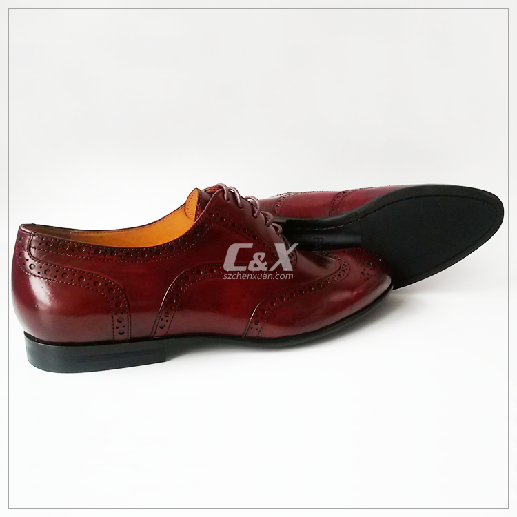 genuine leather flat oxford brogue shoes buy leather