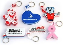 OEM Factory - Various shapes Mobile phone Floating Key Chain