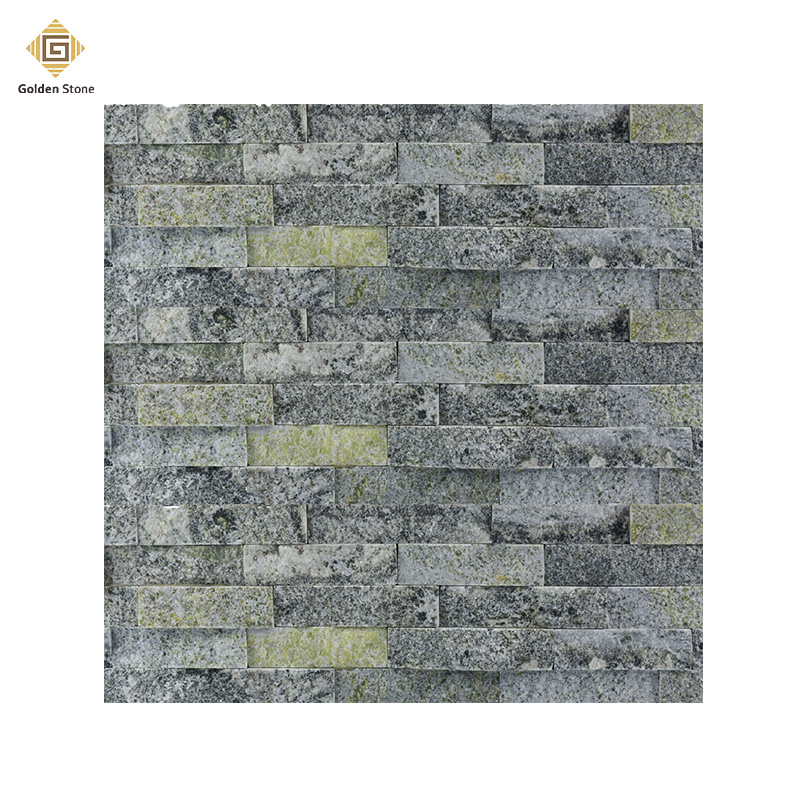 China durable split grey slate wall stone for sale