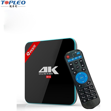 Amlogic Octa Core koid tv box 17.0 4K android tv box free sample Dual band Wifi q-plus s912 tv box