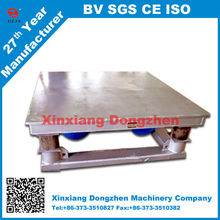 construction industry use vibrating table for concrete moulds