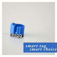 Free Sample! Durable Plastic Bird Leg Bands Compatible with Mega System