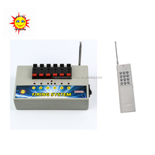 6 channels wireless remote control consumer fireworks ignition system(DBR04-X6)