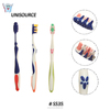Soft Rubber Covered Handle Massage High Quality Good Toothbrush For Adult