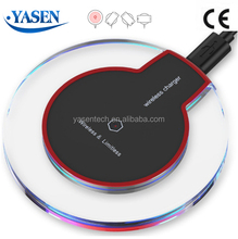 Universal Qi mobile wireless charger For Iphone Samsung LG HTC Moto Phone Charging Pad