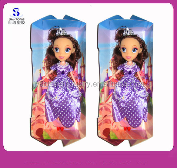 New Products! 10 Inch Fashion Toys Princess Sofia The First Real Body Doll Girl's Toy Wholesale Best Gift for Kids