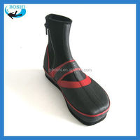 Man's neoprene fabric fishing boots five toe rubber shoes