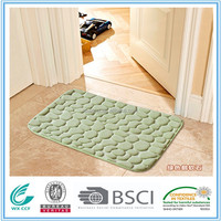 modern design microfiber polyester out door carpet floor mat