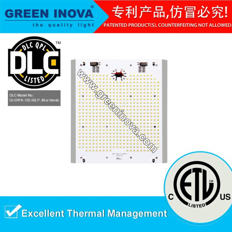 DLC ETL cETL listed Top quality 100000 hours lifespan retrofit street LED