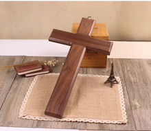 Trade assurance cheap customized small wooden wall cross