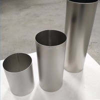 astm b338 Gr1 Gr2 seamless titanium exhaust pipe