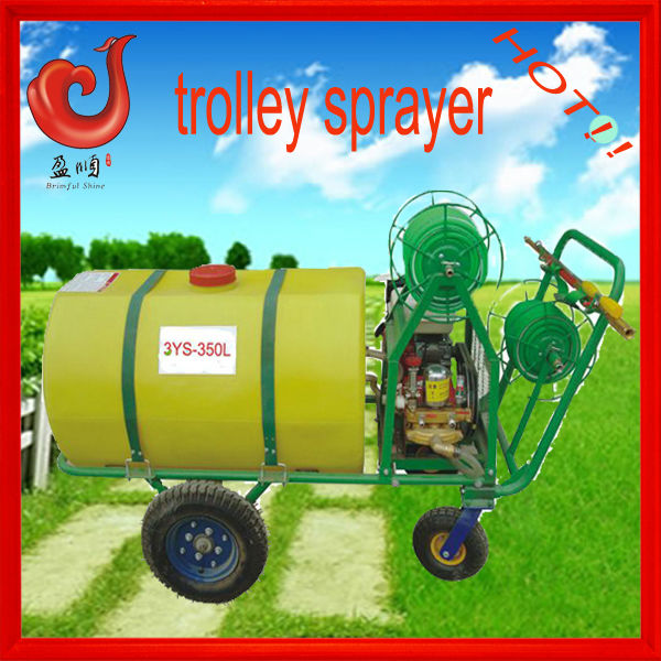 350L triplex plunger pump electrostatic sprayer