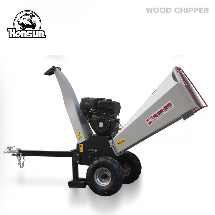 (HS-GS-04) 13HP Honda GX390, Kohler Command, Briggs & Stratton powered gasoline engine mini log shredder chipper