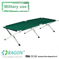 Aluminum alloy military camping cot bed