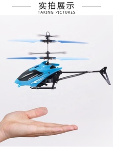 New Christmas gift infrared Inductive Helicopter Colorful RC Flying Ball Built-in LED lights flying ball hand flying helicopter