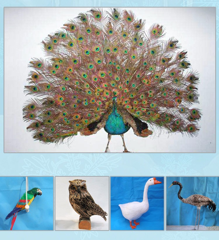 Vivid Full Body Artificial Crows Wholesale Hunting Decoy