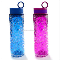 New design of 2016 Honeycomb smoothie bottle sport bottle