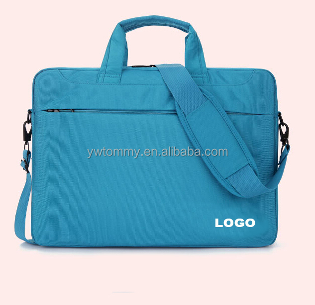 "15.6"" good quality laptop bag with air cushion and shoudler stripe"