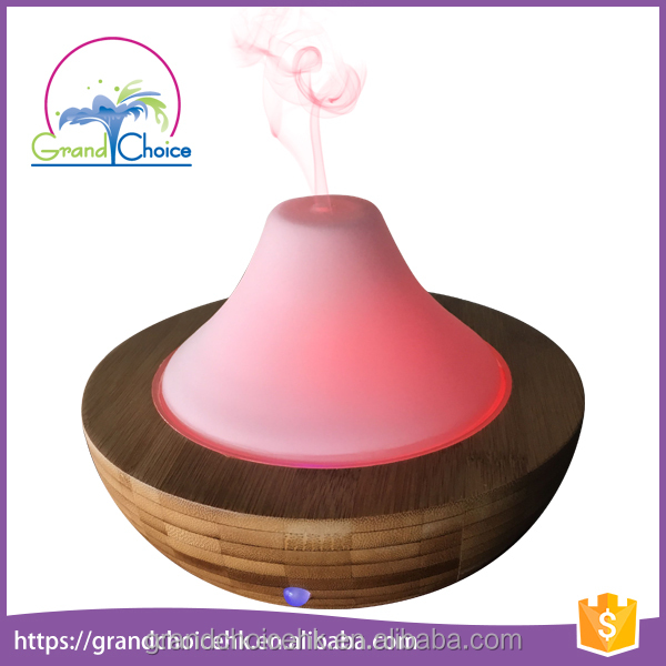 LED lamp glass mini electric perfume diffuser bottle car