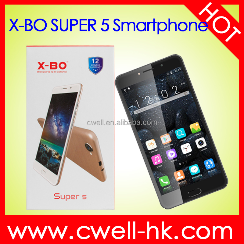 X-BO Super 5 Dual SIM card Android 5.1 MTK6580 Quad Core 6 Inch Big Touch Screen Good Price upcoming smartphones