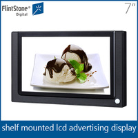 FlintStone 7 inch car multimedia player led video advertising screen