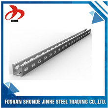 customized hot dip galvanized steel c purlin for warehouse and photovoltaic stent