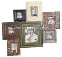 Vintage Wooden Photo Picture Frames For Home Deco