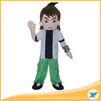 Fancytrader Ben 10 Mascot Costume Polyfoam Head for Party Real Pictures