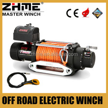12 volt 12500lbs truck towing winch with reliability control box