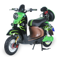 60V20Ah Battery Electric Motorcycle 2000W