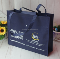 Sedex factory OEM eco PP Non-woven foldable shopping bag
