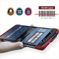 rugged tablet pc with 2D barcode scanner (7200mAh battery )